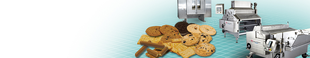 <b>Biscuit, Cookie & Cracker</b><p>Maximize profitability through reliability, ease of cleaning and ease of use.
