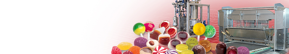 <b>Confectionery</b><p>Technology for the cooking and depositing of high-quality confectionery.
