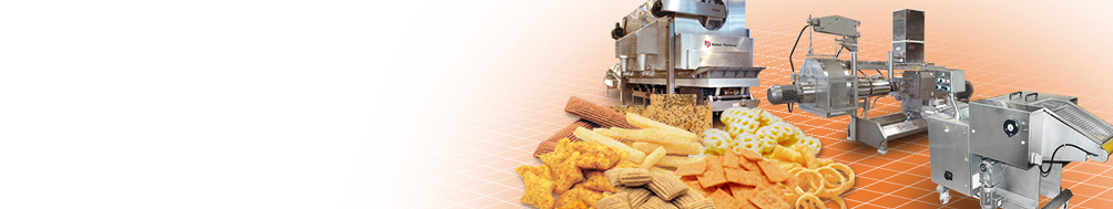 <b>Snack</b><p>Extrusion and co-extrusion lines for an extended range of high value snacks.