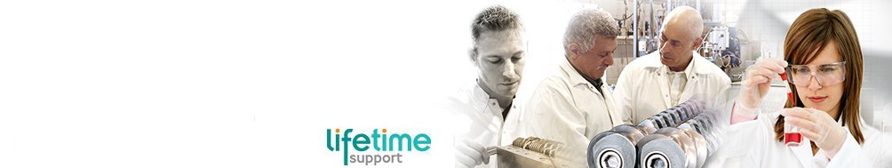 <b>Lifetime Support</b><p>Parts, servicing, repairs, rebuilds and upgrades to extend useful life.