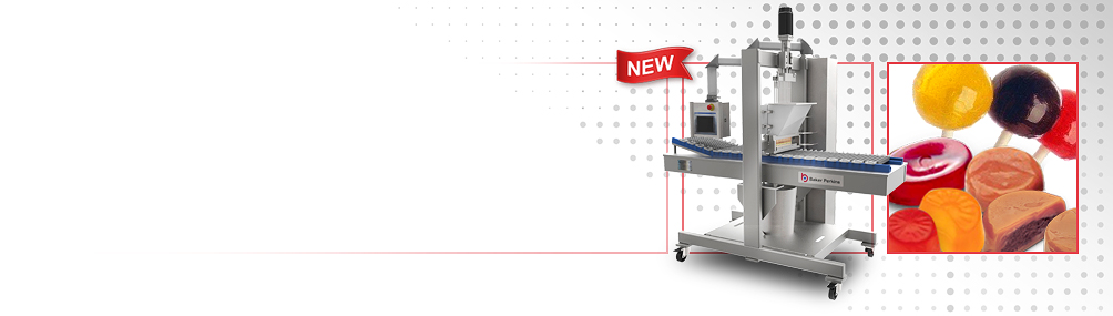 <b>NEW ServoForm™ Mini depositor</b><p>Ideal for short runs of confectionery, including high-value medicated or functional products.