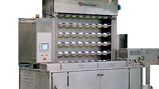 Industrial bakery first prover
