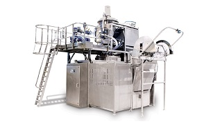 Industrial bakery equipment Tweedy machine