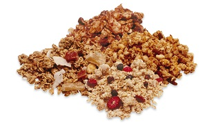 Baked or Dried Granola Cereal