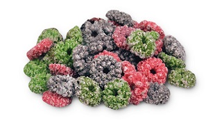 Coated Berry Loops