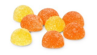 Sugar Sanded Jellies with Vitamin C