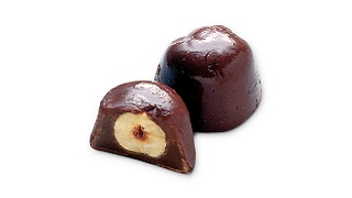 Enrobed Toffee with Large Nut Inclusion