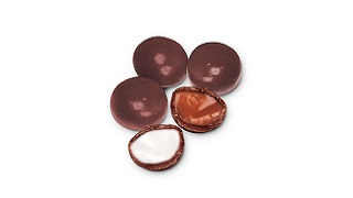 Small Chocolate-Panned Toffee & Fondant