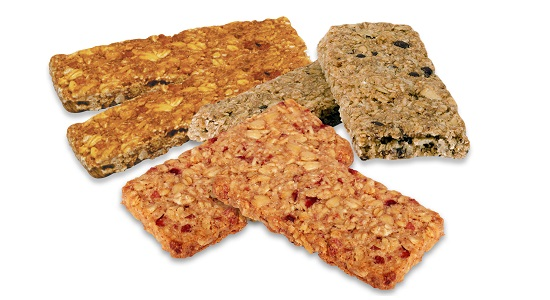 Crunchy granola bar lines expand product range