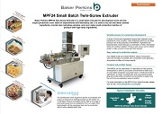 eSheet: MPF24 Small Batch Twin Screw Extruder