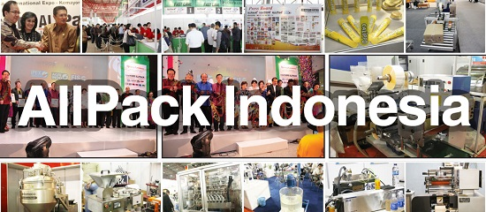 Allpack Indonesia Expo 2014 - Jakarta, Indonesia