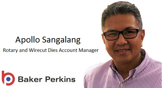 New Die Specialist at Baker Perkins Inc.