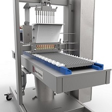 New flexible small batch confectionery depositor