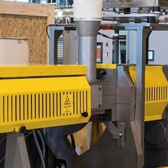 NEW MAX³ feed system leads to a throughput increase of up to 34% on industrial extruders