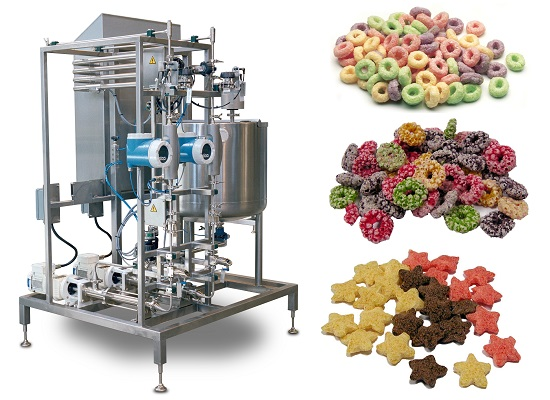 New colour-change and cooking technology for extruded cereals at Interpack 2014
