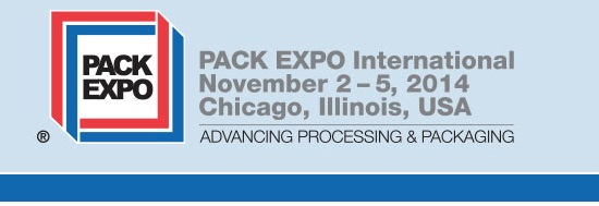 Pack Expo 2014 - Chicago, IL