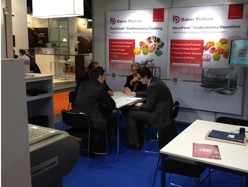 Innovative deposited Confectionery at ProSweets 2013