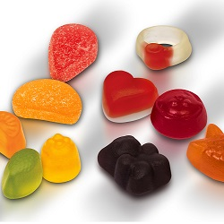 Starchless depositing covers the complete range of jellies and gummies