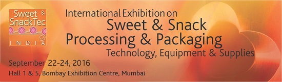 Sweet and Snack Tec 2015 - New Delhi, India