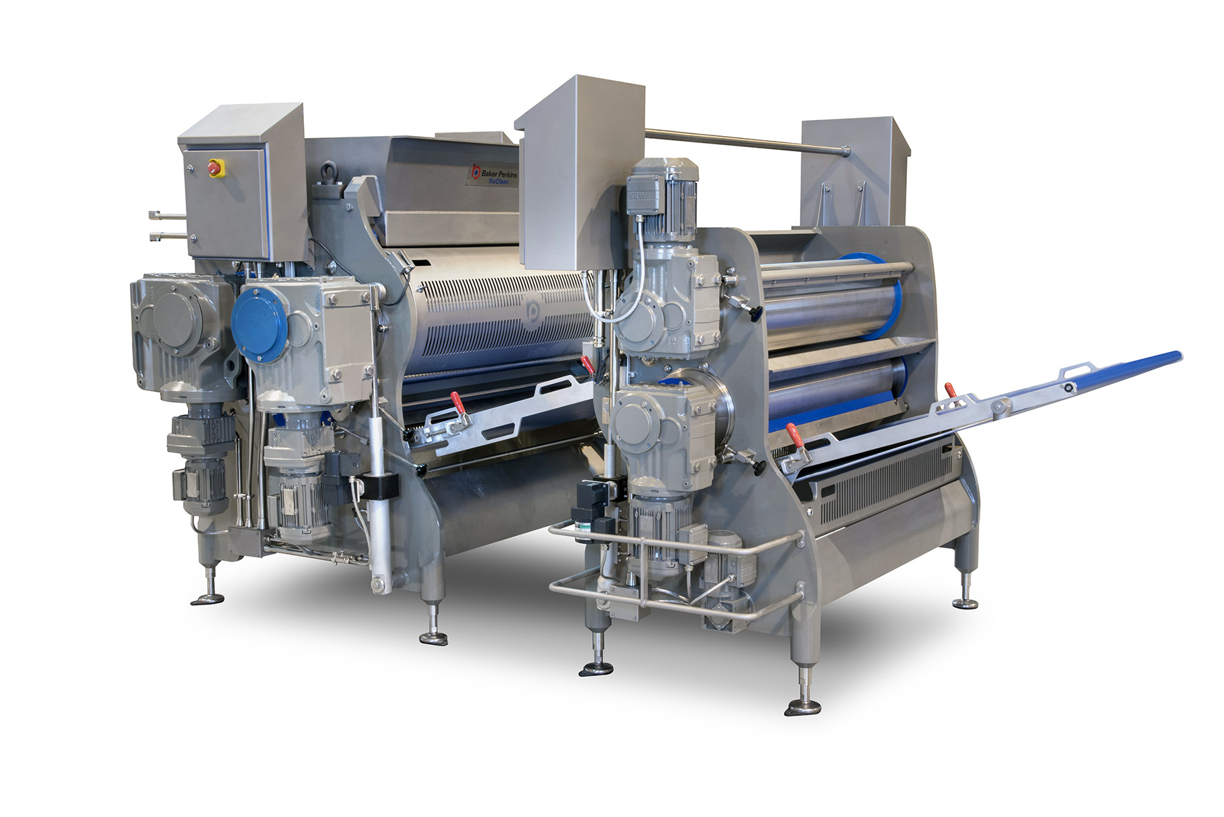New TruClean™ three roll sheeter and gauge roll