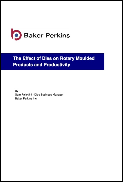 New White Paper: The Effect of Dies on Rotary Moulded Products and Productivity