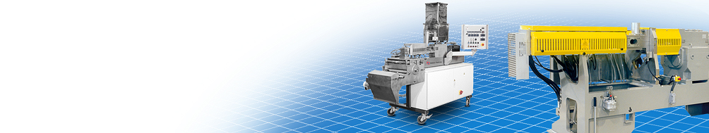 Single or twin screw extruders engineered to maintain consistent quality while keeping running costs low.