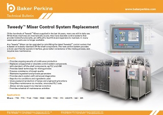 Technical Bulletin: Tweedy™ Mixer Control System Upgrade