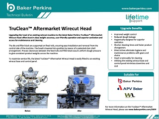 Technical Bulletin: TruClean™ Aftermarket Wirecut Head
