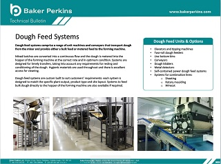 Technical Bulletin: Dough Feed Options