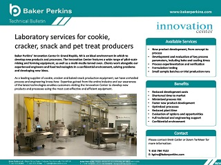 Technical Bulletin: Laboratory Services for Cookie, Cracker, Snack and Pet Food