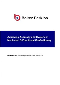 White Paper: Achieving Accuracy and Hygiene in Medicated and Functional Confectionery